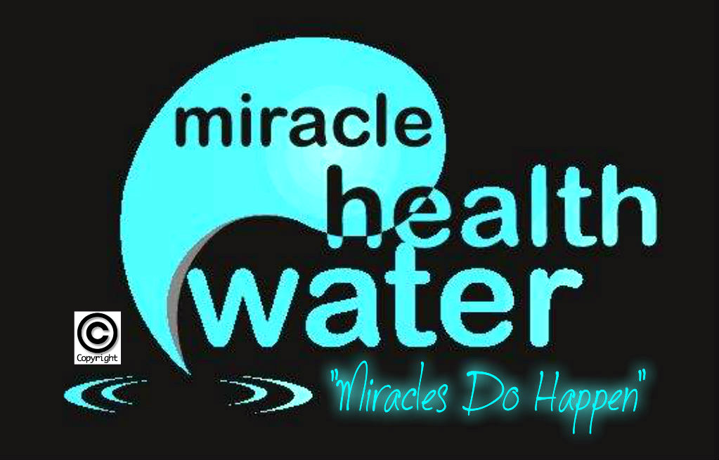1 miracle health water copyright logo